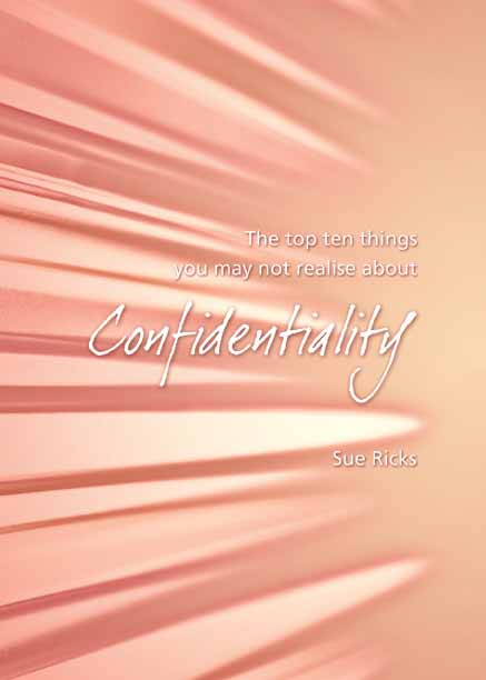 Confidentiality - 10 Things to Know