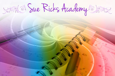 Image of the sue ricks academy logo