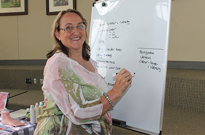 Photo of Sue Ricks, Reflexology expert UK
